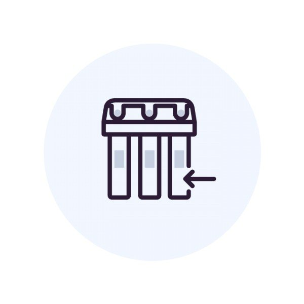 Установка фильтра с краном (не Аквафор)